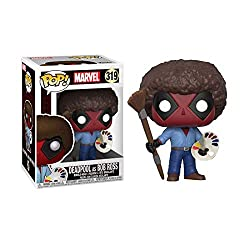 Funko POP! Marvel: Deadpool Playtime- Bob Ross Collectible Figure