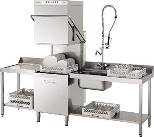 Lave vaisselle à capot panier 500X500 mm