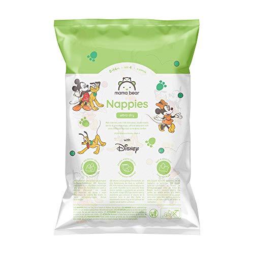 Mama Bear - Disney - 4 Ultra-Dry-Windeln - Größe 4 (8 - 14 kg) - Probepackung