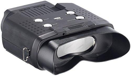 Zavarius Nachtsicht Binokular: Nachtsichtgerät DN-700, Binokular, bis 400 m Sichtweite, SD-Aufnahme (Nachtsichgerät)