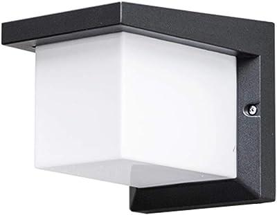 Led De luz Lámpara Blanca Aluminio Pared Impermeable Ip65 12w sthdxBroCQ