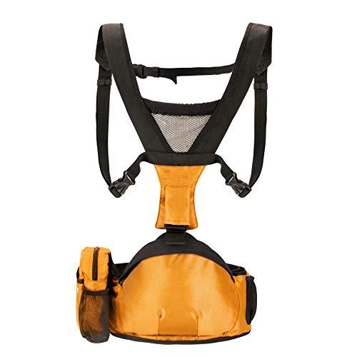 Taburete de cintura para bebé, portabebés-Naranja