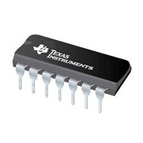 Texas Instruments SN74LS86AN ICS and Semiconductors, XOR Gate, 4 Element, 2 Input Bipolar, 14-Pin, Plastic DIP Tube, 19.3 mm L x 6.35 mm W x 4.57 mm H (Pack of 10)