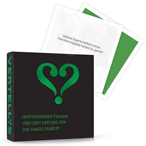 Vertellis Kartenspiel für Familien & mehr Verbundenheit | Familienspiele, Gesellschaftsspiel ab 4 Jahren, Gesellschaftsspiel ab 6 Jahren, Gesellschaftsspiele ab 8 Jahren, Gesellschaftsspiel Kinder