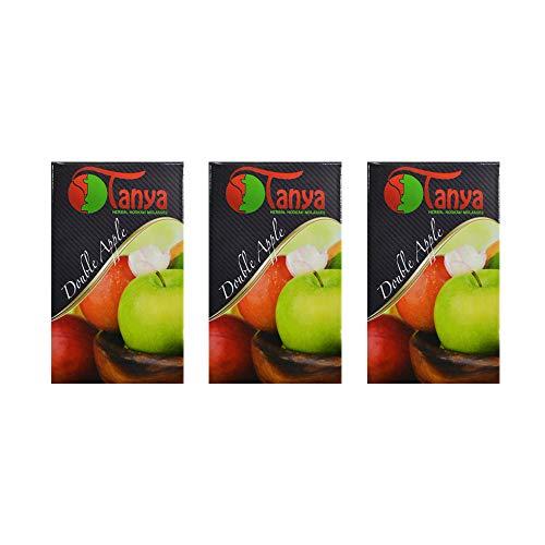 150 gr de hierbas Tanya dos manzanas Melaza natural sin nicotina Shisha de la cachimba pipa Narguile