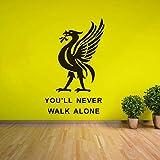 Liverpool Football Club WandaufkleberInspiration Zitat Wand Poster Fußball Spieler...