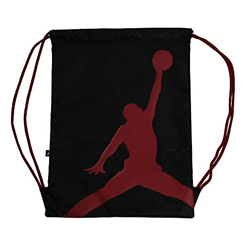 Nike Air Jordan Jumpman ISO Gym Sack (Black/Gym Red)
