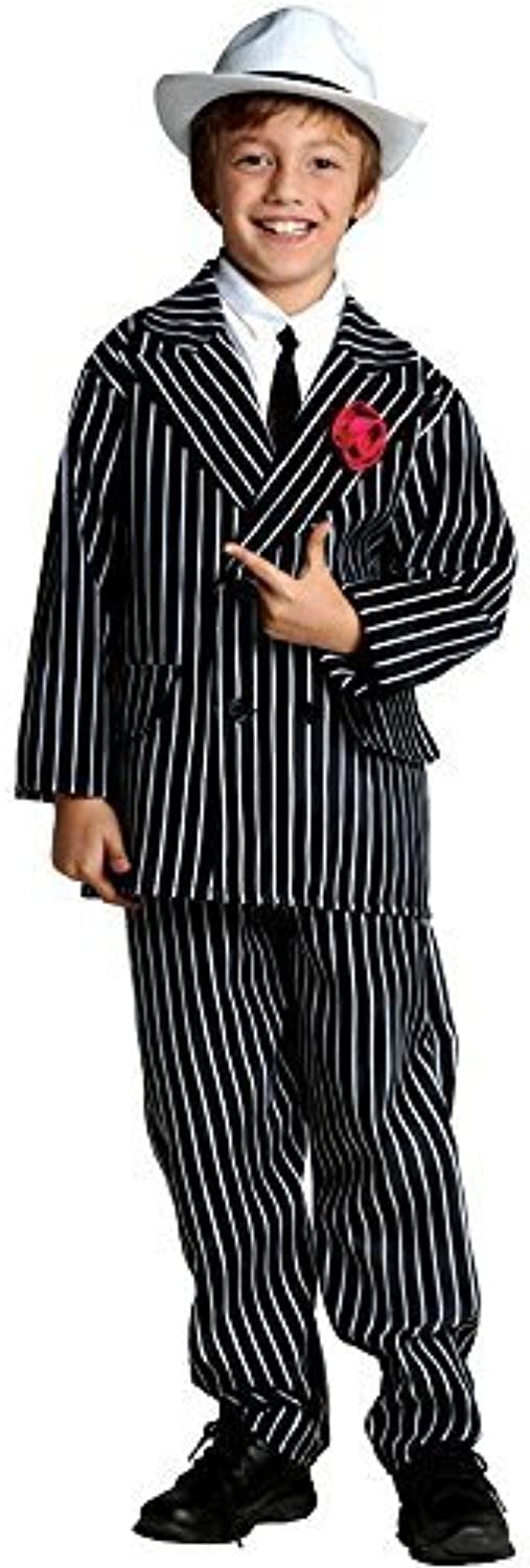 RG Costumes Gangster Costume, Black White, Medium by RG Costumes