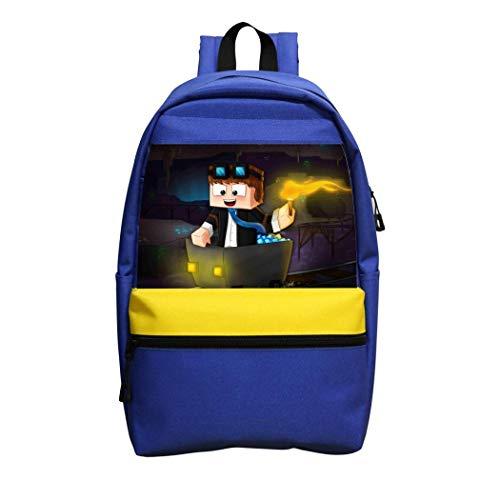Rose Marlowe Kids/Youth School Backpacks Dan TDM Casual Daypack School Bags Student Bookbag for Boys Girls