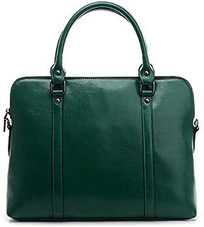 Women's Handbag Luxury Shoulder Messenger Bag Ladies Office Messenger Bag Ladies Handbag (Color : Green)
