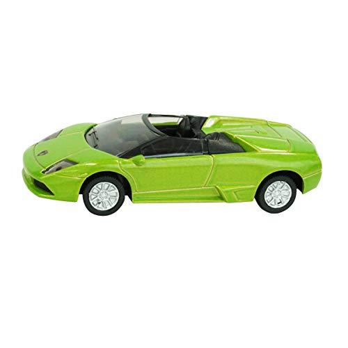 SIKU 1318, Lamborghini Murciélago Roadster, Metall/Kunststoff, Grün, Spielzeugauto für Kinder