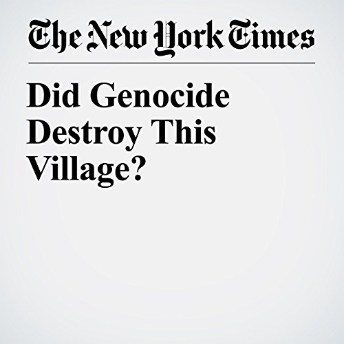 Did Genocide Destroy This Village? audiobook cover art