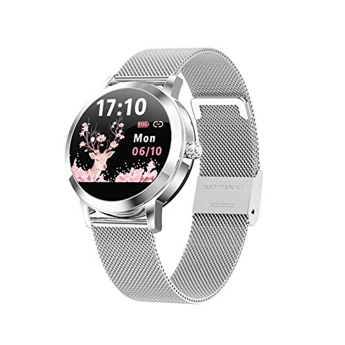 Nuevo LW10 Smart Watch Ladies IP68 Impermeable Dynamic Watch Dial Digital Smartwatch para Android iOS,B