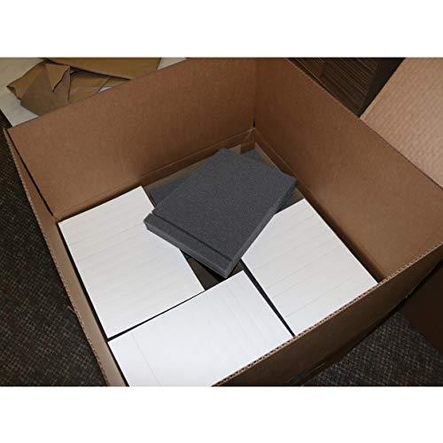 FindTape PS Polyurethan-Schaumstoff-Klebestreifen: 3,8 cm Dicke x 2,5 cm x 22,9 cm (schwarz) / 624 Streifen