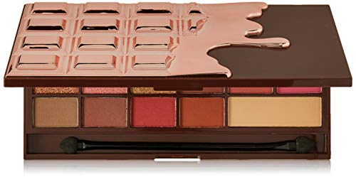 I Heart Revolution Paleta De Sombras, Chocolate Rose Gold