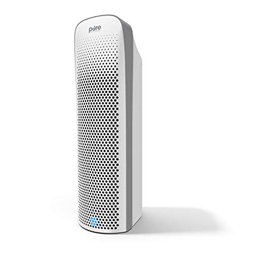 Pure Enrichment PureZone Elite 4-in-1 Air Purifier - True HEPA Filter + UV-C Sanitizer Cleans Air, Helps Alleviate Allergies, Eliminates Germs, Removes Pet Hair & Smoke — for Home, Office & Bedroom