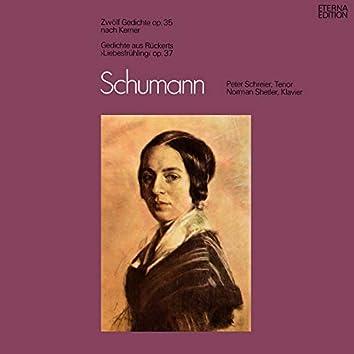 """Schumann: Zwölf Gedichte, Op. 35 / Gedichte aus """"Liebesfrühling"""", Op. 37"""