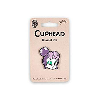 Cuphead Collectable   Cuphead Mermaid Boss Enamel Pin   Collector's Edition