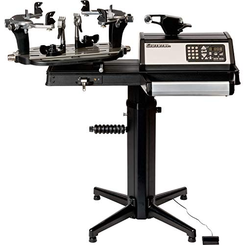 Gamma Professional 7900 ELS Tennis Racquet Stringing Machine: Standing Racket String Machine, Tools and Accessories Included – Tennis, Squash, Badminton, 6pt SC Quick Mount+ Mounting System