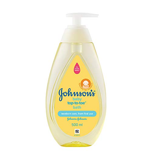 Johnson's Baby Top to Toe Bath Wash, 500ml