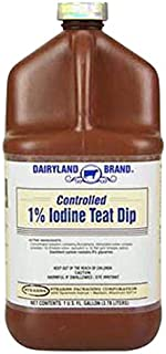stearns packaging corporation st0201-db-tl31 Gallon, 1% Controlled Iodine Teat Dip