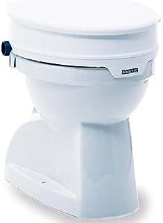 Elevador de inodoro Aquatec 90 de Invacare con tapa | Altura