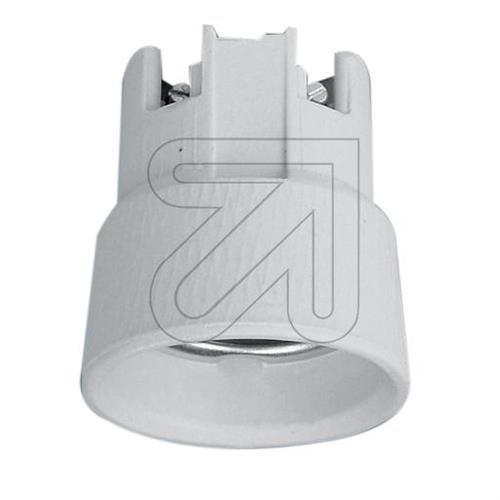 Porzellan-Einbaufassung E27