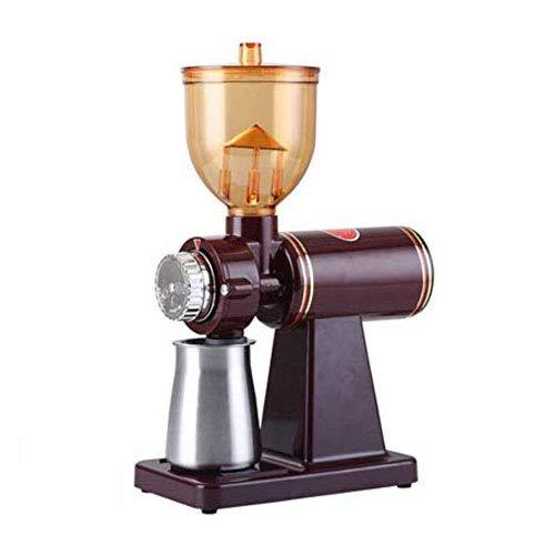 電動コーヒーミル 8段階変速調整 急速挽く 均一な粉末 お手入れ簡単 静音 コーヒーグラインダー 電動 小型 手作り家庭用 機械ステンレス鋼の刃 コーヒー店 ケーキ店ドーナツ店などに適用