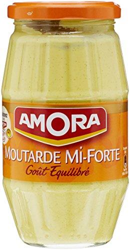 Amora Moutarde de Dijon Senf 415 g mittel scharf