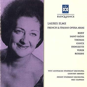 French & Italian Opera Arias
