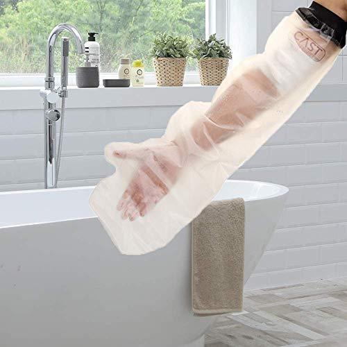 Lifeswonderful - Protector Impermeable Reutilizable para Cubrir el Yeso, Escayola o el Vendaje (Brazo Adulto, Longitud Completa)