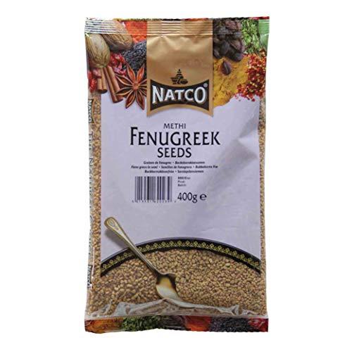 Natco Methi Seeds - Semillas de alholva (400 g)