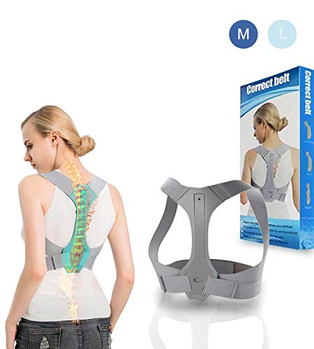 SEA CHANCE® Haltungstrainer Pro Next Generation, Geradehalter zur Haltungskorrektur für eine Gesunde Haltung, Rückentrainer Schulter Rückenstütze, Schulter Rücken Haltungsbandage Verstellbare (M)