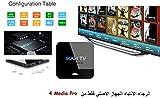 Arabia TV Box Super HD Receiver (Arabic TV Box with 3500 Channel...