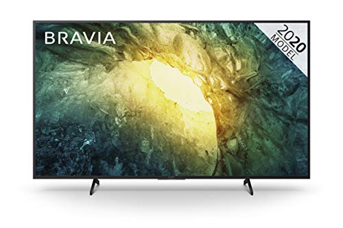 Sony BRAVIA KD65X70  - 65-inch - LED - 4K Ultra HD (UHD) - High Dynamic Range (HDR) - Smart TV -with Freeview Play (Black, 2020 model)