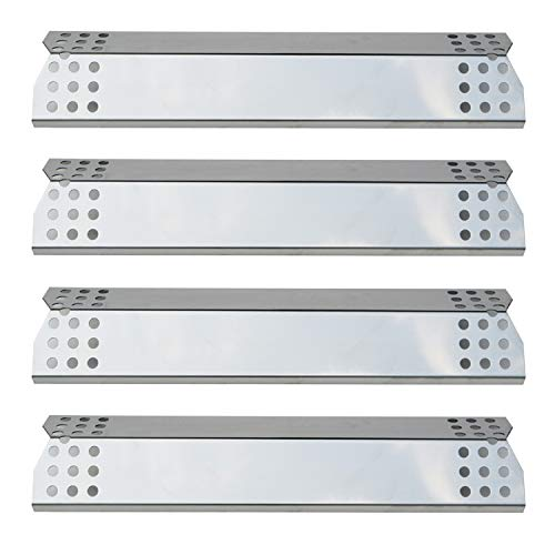 Direct store Parts DP130 (4-Pack) Stainless Steel Heat Shield/Heat Plates Replacement Sunbeam, Nexgrill, Grill Master, Charbroil, Kenmore, Kitchen Aid, Members Mark, Uberhaus, Gas Grill Models (4)