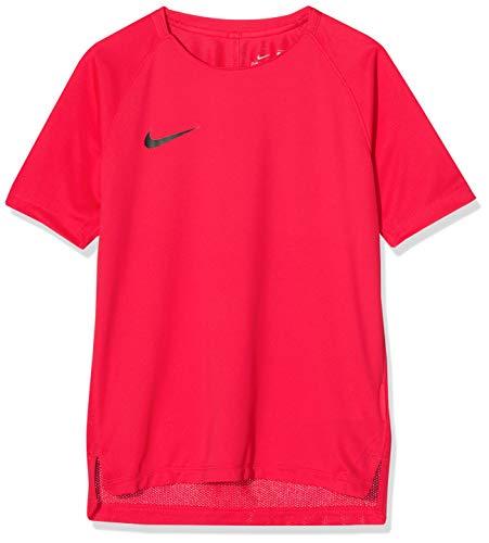 Nike Kinder Breathe Squad Trainingsshirt Shirt, pink, S-128-137 cm