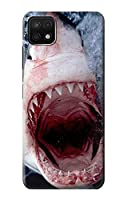 JP1341A25 サメの口 Jaws Shark Mouth For Samsung Galaxy A22 5G 用ケース