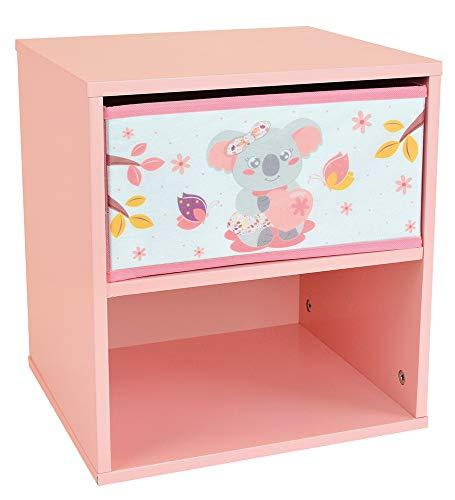 FUN HOUSE Koala 713301 Chevet avec tiroir pour Enfant, PM