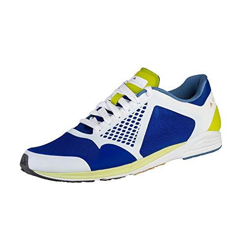 adidas x Stella McCartney Adizero Takumi Sport-Schuhe Funktionelle Damen Fitness-Schuhe Jogging-Schuhe Sneaker Blau/Weiß, Größe:36