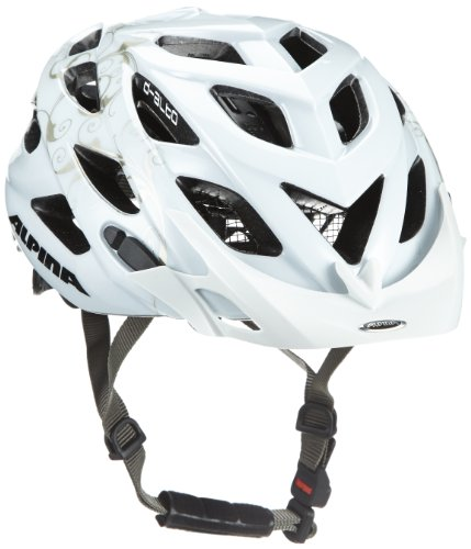 ALPINA Radhelm D-Alto, White-Rose Gold, M (52-57 cm)
