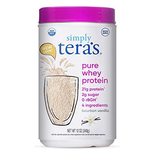 teraswhey Protein, Bourbon Vanilla, 12 oz