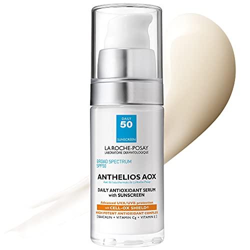 La Roche-Posay Anthelios AOX Daily Antioxidant Serum with Sunscreen, 1 Fl Oz