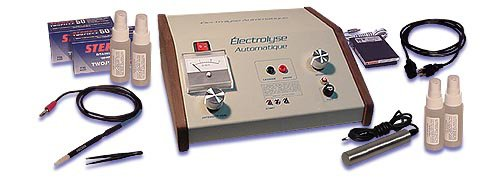 ELECTROLYSE Automatique Deluxe Elektrolyse Dauerhafte Haarentfernung Kit
