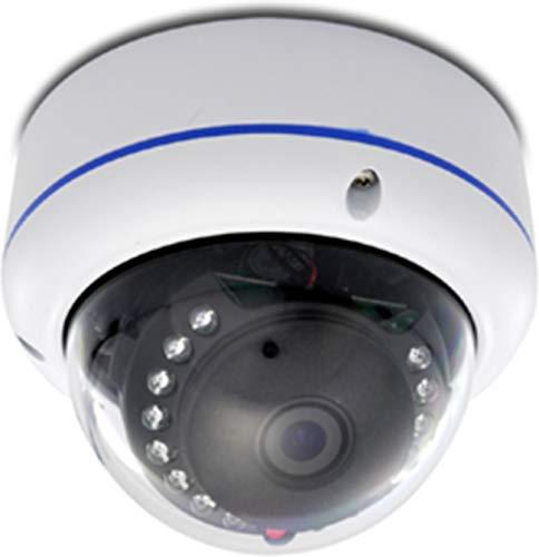 Urban Security Group 6-in-1 BNC CCTV Format 1080P 2MP High Definition Discreet Mini Dome Security Camera : 2.8mm Fixed Wide Angle Lens, 15x IR LEDs : HD-SDI, EX-SDI, HD-TVI, HD-CVI, AHD, Analog CVBS