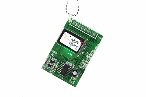 Miniblings componentes de la computadora de Mesa de la Cadena Collar Ordenador...