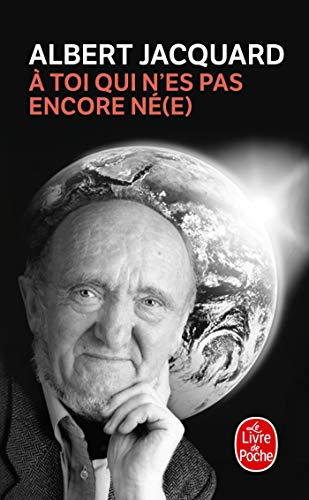 A Toi Qui N Es Pas Encore Ne E: Lettre à mon...