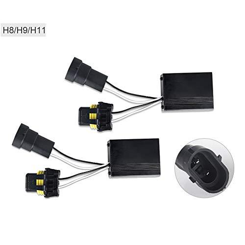 2 pcs h11 led CANBUS Décodeur anti-erreur Voiture Avertissement Canceller Condensateur pour led ampoule h11