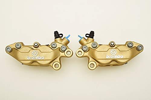 PAR de pinzas de freno calipers Serie Oro de freno brembo P 43034int. 40para Ducati, guzzi aprilia nuevas