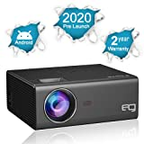 EG Android 6X LED Projector Full HD 1080p Supported , in-Built Wireless Mirroring